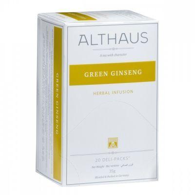 Чай Althaus 'Ginseng Balans' травяной 20 пакетиков