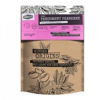 Кофе Minges 'Origins India Parchment Peaberry' в зернах