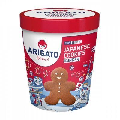 Печенье Arigato 'Сдобное имбирное'