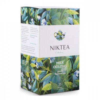 Чай Niktea 'Milk Oolong' молочный улун 25 пакетиков