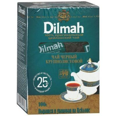 Чай 'Dilmah' Цейлонский черный крупный