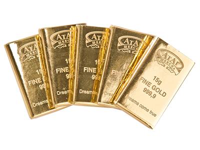 Конфеты 'Пятнадцать грамм золота'