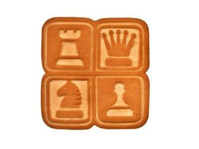 Печенье 'Слободка шахматная'