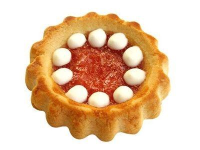 Печенье 'Задумка' крем клубника со сливками