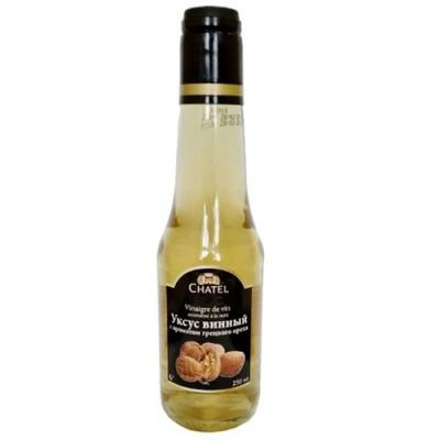 Уксус винный Chatel с ароматом грецкого ореха 6%