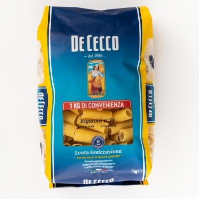 Паста De Cecco №024 Ригатони