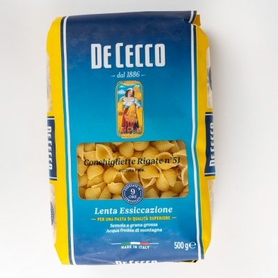 Паста De Cecco №051 Конкильетте Ригате
