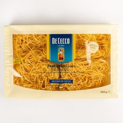 Паста De Cecco №105 Тальерини с добавлением яйца