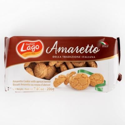 Печенье миндальное Gastone Lago Amaretto