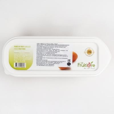 Пюре абрикоса 10% сахара La Fruitiere замороженное