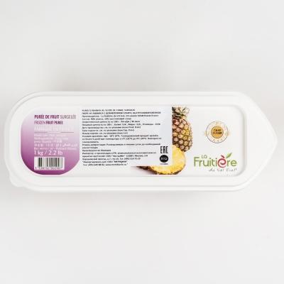 Пюре ананаса 10% сахара La Fruitiere замороженное