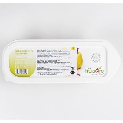 Пюре груши без сахара La Fruitiere замороженное