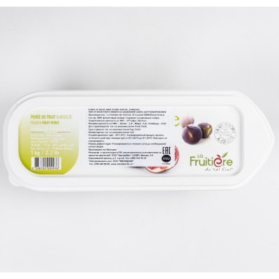 Пюре инжира без сахара La Fruitiere замороженное