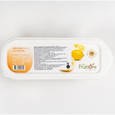 Пюре лимона 10% сахара La Fruitiere замороженное