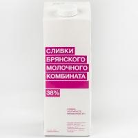 Сливки 38% БМК питьевые ультрапастеризованные