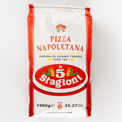 Мука Le 5 Stagioni 'Пицца Наполетана' (розовый лейбл) из мягких сортов пшеницы