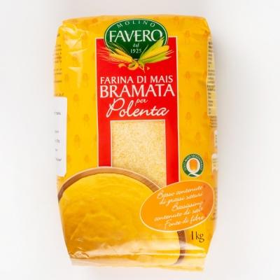 Мука кукурузная Molino Favero 'Брамата' для поленты