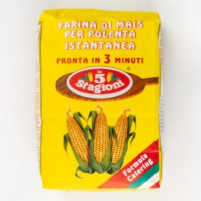 Мука кукурузная Le 5 Stagioni 'Полента истантанеа' для поленты