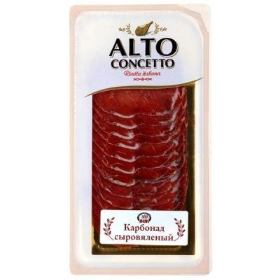 Карбонад Alto Concetto Филетто сыровяленый нарезка