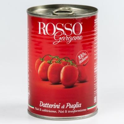Томаты Rosso Gargano Datterini целые в собственном соку