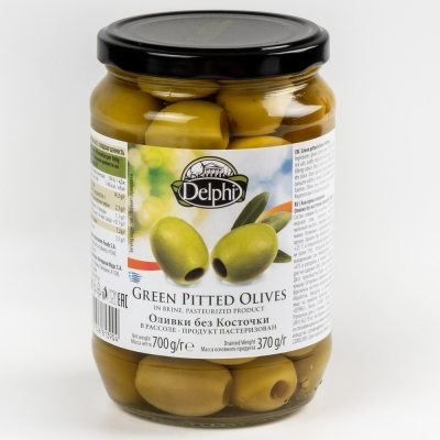 Оливки Delphi без косточки ст/б
