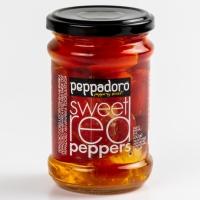 Перец красный Peppadoro сладкий фаршированный сыром ст/б