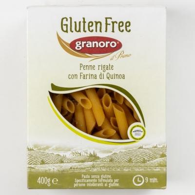 Макаронные изделия из киноа (без глютена) GranOro Senza Glutine № 477 Пенне Ригате