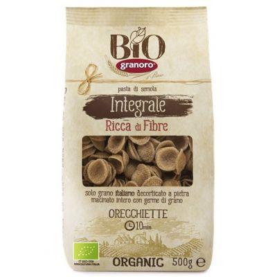 Макаронные изделия из твердых сортов пшеницы GranOro Biologica Integrale №91 Орекъетте
