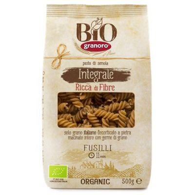 Макаронные изделия из твердых сортов пшеницы GranOro Biologica №100 Фузилли
