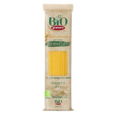 Макаронные изделия из твердых сортов пшеницы GranOro Biologica №12 Спагетти