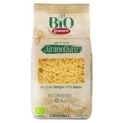 Макаронные изделия из твердых сортов пшеницы GranOro Biologica №69 Розмарино