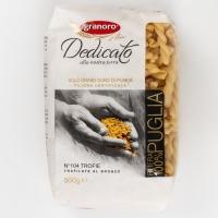 Макаронные изделия из твердых сортов пшеницы GranOro Dedicato № 104 Трофи