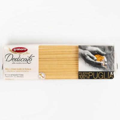 Макаронные изделия из твердых сортов пшеницы GranOro Dedicato № 110 Спагеттони