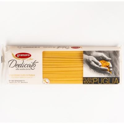 Макаронные изделия из твердых сортов пшеницы GranOro Dedicato № 180 Спагетти