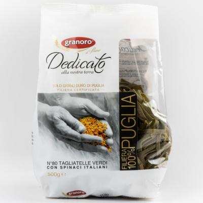 Макаронные изделия из твердых сортов пшеницы GranOro Dedicato № 80 Тальятелле Верди