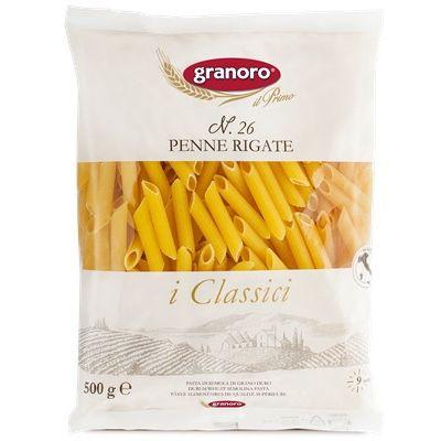 Макаронные изделия из твердых сортов пшеницы GranOro I classici №26 Пенне Ригате