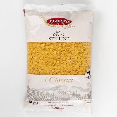 Макаронные изделия из твердых сортов пшеницы GranOro I classici №74 Стеллине