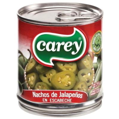 Перец Халапеньо зелёный Carey резанный кружочками