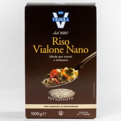 Рис Виалоне Нано Ризо Виньола Riso Vignola белый среднезёрный