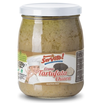 Паста трюфельная светлая Buono & Servito