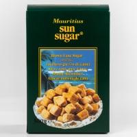 Сахар тростниковый Sun Sugar коричневый кусковой неформованный нерафинированный