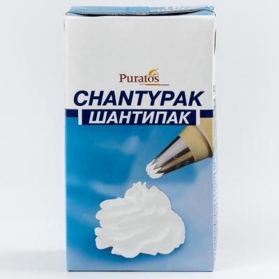 Сливки Шантипак 26% на растительных маслах Chantypak