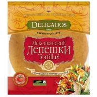Тортилья Delicados с томатом 10 дюймов 6 шт в упак.
