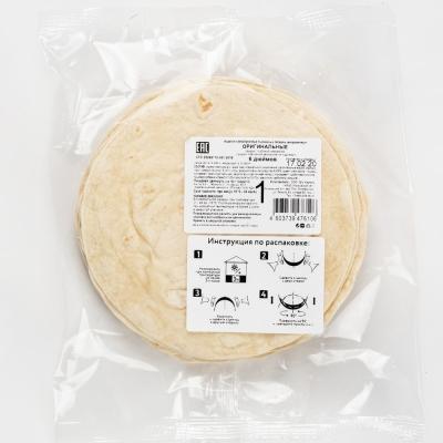 Лепешка El Cartel пшеничная оригинальная 6 дюймов замороженная 10 шт