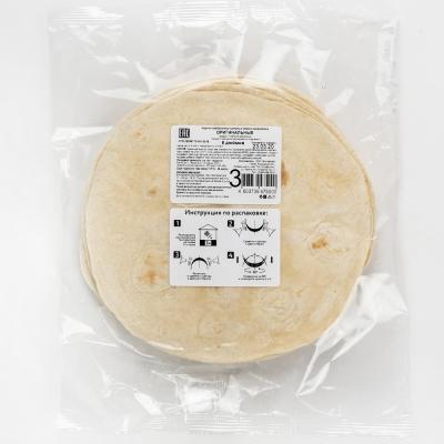 Лепешка El Cartel пшеничная оригинальная 8 дюймов замороженная 10 шт