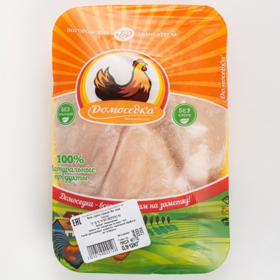 Курица Домоседка филе грудки цыпленка-бройлера замороженное