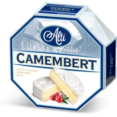 Сыр плавленый Alti Камамбер 40%