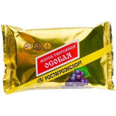Масса творожная Ростагроэкспорт 'Особая' с изюмом 23%