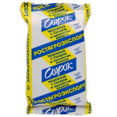 Сырок творожный Ростагроэкспорт с ароматом ванили 16,5%