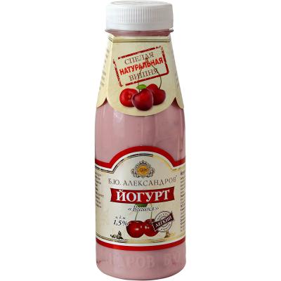 Йогурт питьевой Б.Ю.Александров Вишня